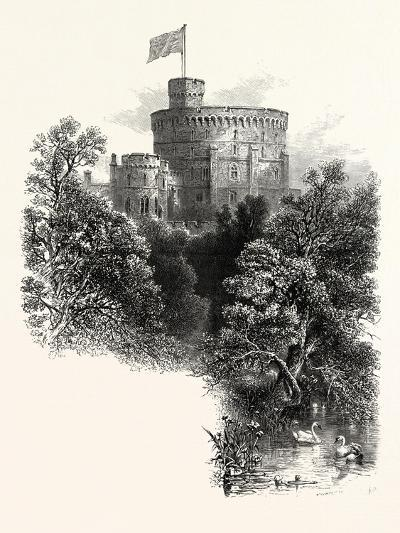 Windsor Castle, the Round Tower, UK--Giclee Print