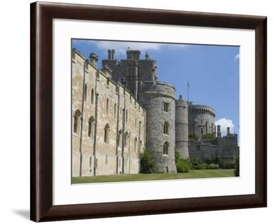 Windsor Castle, Windsor, Berkshire, England, United Kingdom, Europe-Ethel Davies-Framed Photographic Print