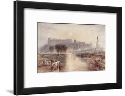 Windsor Castle-J^ M^ W^ Turner-Framed Giclee Print