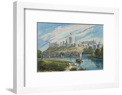 Windsor Castle--Framed Giclee Print