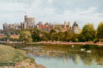 Windsor Castle-Alfred Robert Quinton-Giclee Print