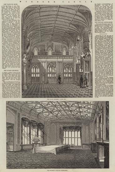 Windsor Castle--Giclee Print