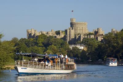 Windsor Castle-Charles Bowman-Photographic Print