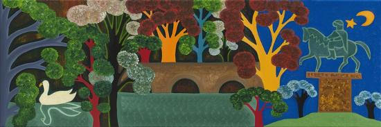 Windsor Park at the Height of Summer, 2011-Cristina Rodriguez-Giclee Print