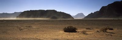 Windswept Desert, Wadi Rum, Jordan--Photographic Print