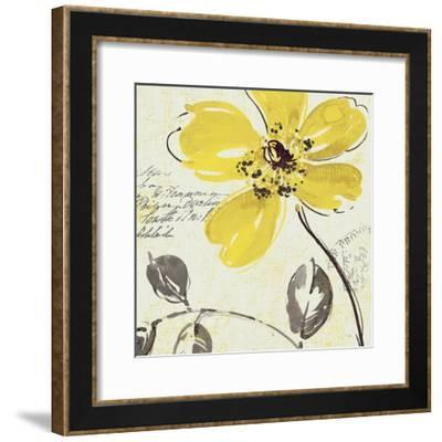 Windy Yellow II--Framed Art Print