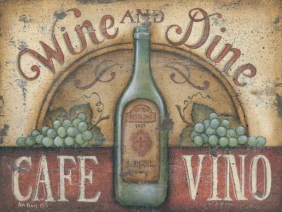 Wine and Dine-Kim Lewis-Art Print