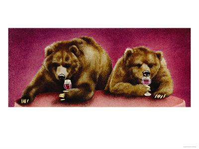 Wine Bars-Will Bullas-Premium Giclee Print