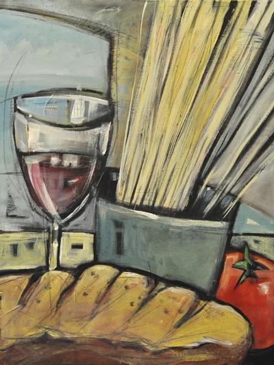 Wine Bread and Pasta-Tim Nyberg-Giclee Print