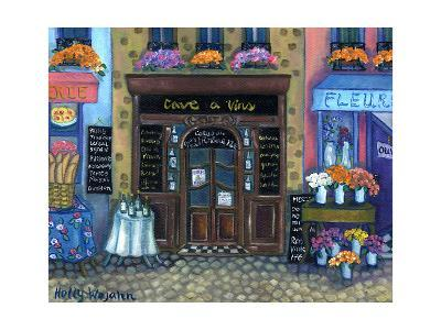 Wine Cave-Holly Wojahn-Art Print