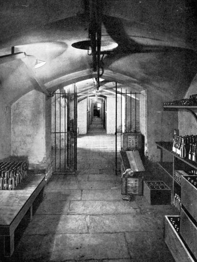 Wine Cellars of the House of Commons, Westminster, C1905--Giclee Print