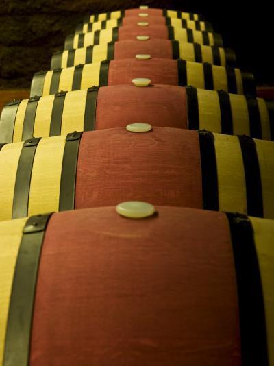 Wine Celler in Catalonia, Spain-Carlos Sanchez Pereyra-Photographic Print