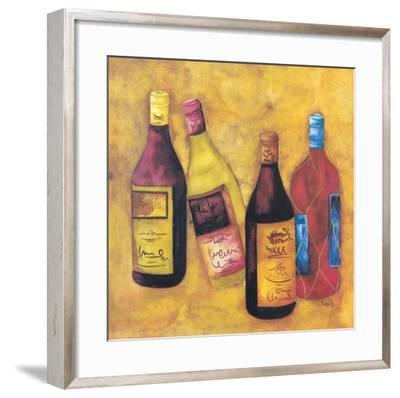 Wine Collection III-Evol Lo-Framed Art Print