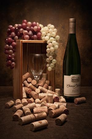 Wine Corks Still Life II-C^ McNemar-Photographic Print