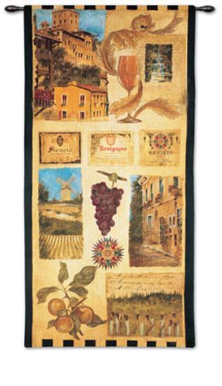 Wine Country II-Elizabeth Jardine-Wall Tapestry