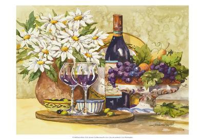 Wine & Daisies-Jerianne Van Dijk-Art Print