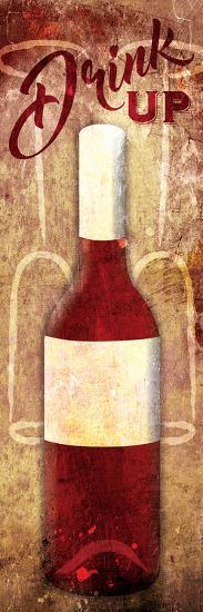 Wine Drink Up-Jace Grey-Art Print