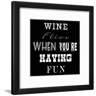 Wine Flies-Veruca Salt-Framed Art Print