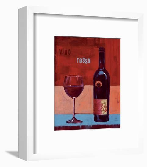Wine for Two-Anna Flores-Framed Art Print