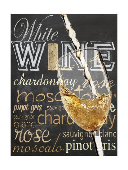 Wine Glass White-Lauren Gibbons-Art Print