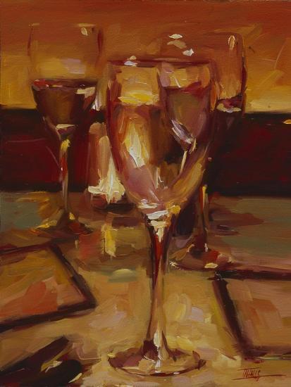 Wine Glasses, Paris-Pam Ingalls-Giclee Print