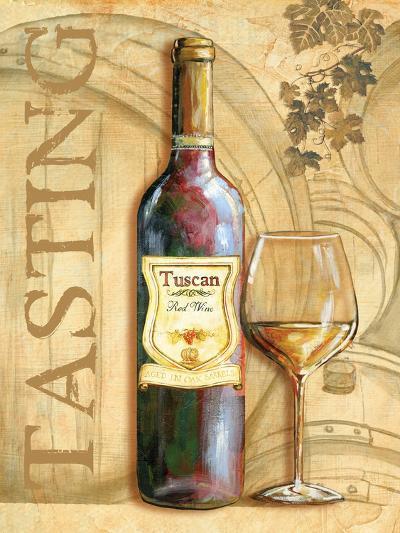 Wine II-Gregory Gorham-Art Print