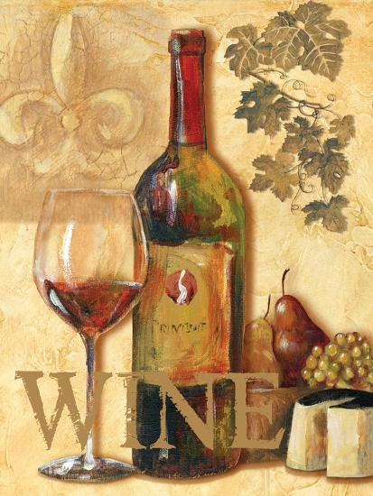Wine III-Gregory Gorham-Art Print