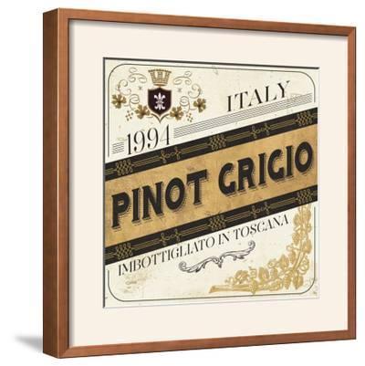 Wine Labels IV-Pela Design-Framed Photographic Print