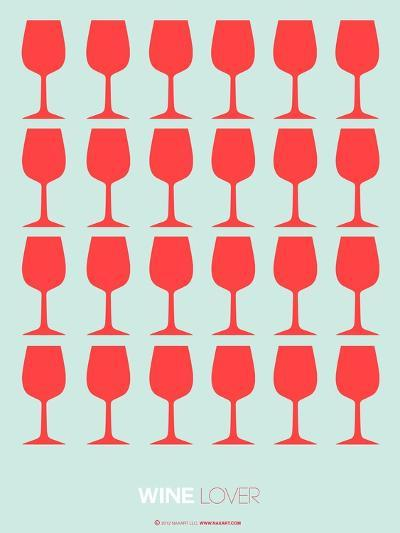 Wine Lover Red-NaxArt-Art Print