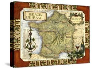 Wine Map of France