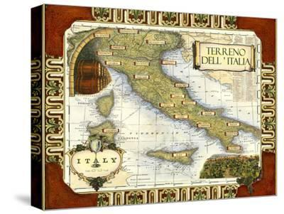 Wine Map of Italy on CGP