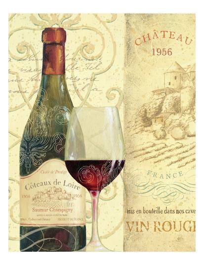 Wine Passion II-Daphne Brissonnet-Art Print