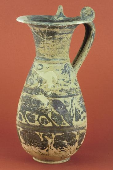 Wine Pitcher with Animal Motifs from the Vulci Territory--Giclee Print