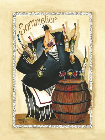Wine & Roses I-Jennifer Garant-Art Print