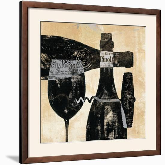 Wine Selection I-Daphne Brissonnet-Framed Photographic Print