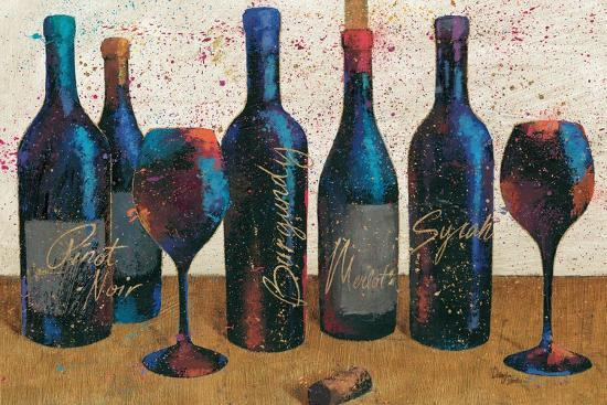 Wine Splash Light I-Jim Wellington-Premium Giclee Print