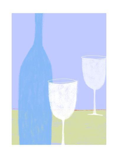 Wine Still Life--Art Print