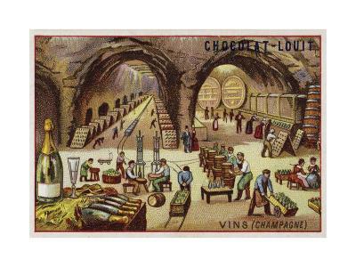 Winemaking--Giclee Print