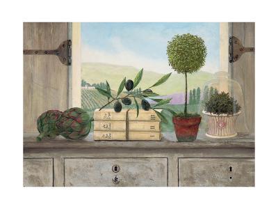 Winery Villa View-Arnie Fisk-Premium Giclee Print