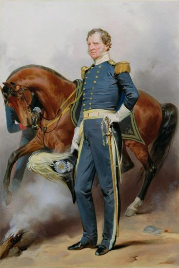 Winfield Scott (1786-1866), C.1850-Alonzo Chappel-Giclee Print