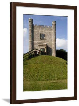 Wing of the Norman Castle Restored in the 11th Century and Converted into a Museum--Framed Photographic Print