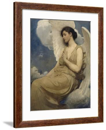 Abbott Handerson Thayer Winged figure Giclee Fine Art Print Repro on Canvas