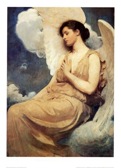 Winged Figure-Abbott Handerson Thayer-Art Print