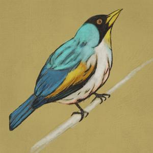 Winged Sketch II on Ochre
