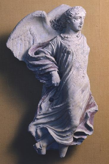 Winged Victory in Flight, Decorative Sculpture for Pediment of Temple, Lazio, Italy BC--Giclee Print