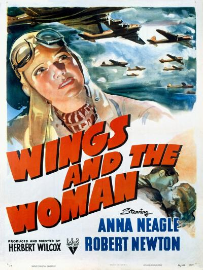 Wings and the Woman Movie Poster--Giclee Print