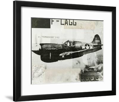 Wings Collage II-Hugo Wild-Framed Art Print