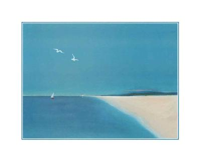 Wings in the Bleu II-A^ Spitz-Art Print