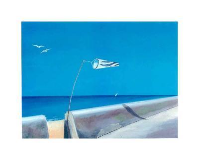 Wings in the Bleu IV-A^ Spitz-Art Print