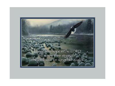 Wings Like Eagles-Kevin Daniel-Art Print